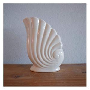Art Deco style shell vase